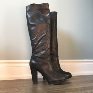 ALDO knee-high leather boots